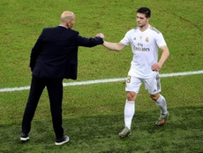 Jovic has more goals for Serbia in three matches than entire Real Madrid career. EFE