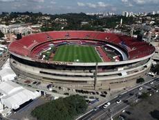 São Paulo derrotou o Corinthians por 2 a 1 no Morumbi. EFE/Paulo Whitaker/Arquivo