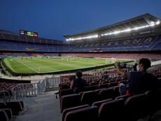 El Barcelona jugará por última vez esta temporada en el Camp Nou. EFE/Alberto Estévez