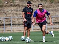 Time de Diego Pablo Simeone tem diversos desfalques. EFE/atleticodemadrid.com