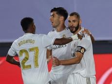 Le Real Madrid fonce vers son 34e titre de Liga. EFE