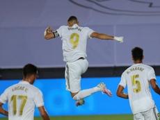 Real Madrid ganha por 2 a 0. EFE