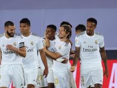 Le groupe du Real Madrid pour affronter Grenade en Liga. EFE