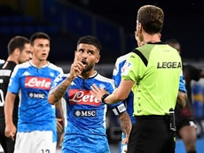 Nápoles y Milan se anulan en su camino a Europa. EFE