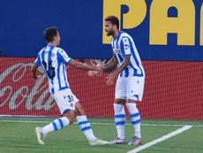 Alineaciones confirmadas del Real Sociedad-Sevilla. EFE
