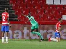 Mendy de retour dans le stade où il a fait ses débuts avec le Real. EFE