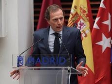 O Real Madrid pede para a sua torcida não comemorar nas ruas. EFE
