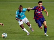Barcelona perde em casa e termina a LaLiga em 2º lugar. EFE/Alberto Estévez
