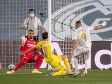 El Real Madrid consiguió el triunfo del título. EFE