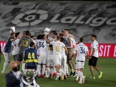 Catastrophe dans le football espagnol. afp