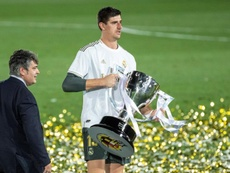 Courtois wins titles wherever he plays. EFE