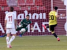 El Albacete no ve con buenos ojos esa opción. EFE/Manuel Podio