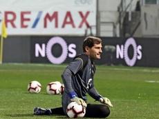 Iker Casillas anuncia a sua aposentadoria. EFE