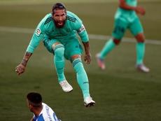 A maldição do Real Madri sem Ramos na Champions. EFE
