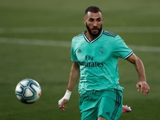 Benzema is clear that he wants to beat City. EFE