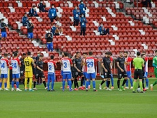 El Sporting quiere reducir la masa salarial. EFE