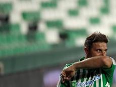Joaquín se estrenó como goleador con el Betis hace dos décadas. EFE/Archivo