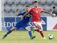 Rhyner llegó en 2019 al Cádiz desde el Grasshopers. EFE