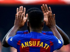 Barcelona tie Ansu Fati down with stunning contract . EFE