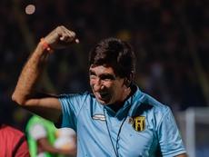 Guaraní se deja otros dos puntos ante General Díaz. EFE