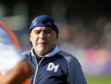 El  increíble vídeo inédito de Maradona jugando al fútbol sala. EFE