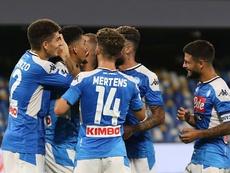 Jogador da Segunda Divisão espanhola pode chegar no Napoli. EFE/EPA/CESARE ABBATE
