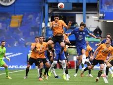 Mason Mount y Giroud meten al Chelsea en la Champions. AFP