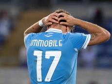 Immobile recordó su etapa en el Sevilla. EFE