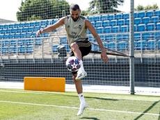 O Lyon sonha com Benzema. EFE