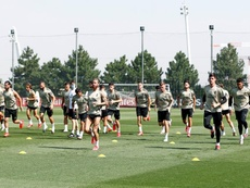 Todo o Real Madrid deu negativo no primeiro teste da UEFA. EFE