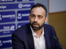OFICIAL: el Tenerife despide a Fran Fernández. EFE