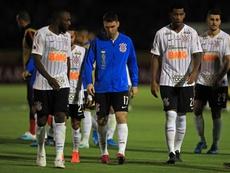 Walter mostra que pode ser a primeira solução para Mancini no Corinthians. EFE/José Jácome/Archivo