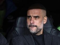 Pep Guardiola sur Benzema. EFE