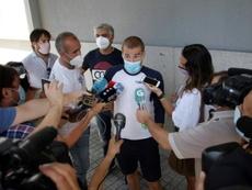 Bergantiños se defendió tras declarar ante la Policía. EFE/Calabar
