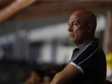 Presidente do Santos 'foge' ao demitir Jesualdo Ferreira. EFE /Fernando Bizerra