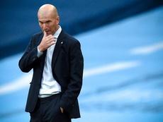 Zidane ne se sent pas menacé à son poste. EFE