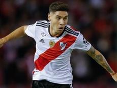 Buenas noticias para River: Gonzalo Montiel supera el COVID-19. EFE/Juan Ignacio Roncoroni