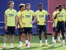 Un giocatore positivo nel Barcellona. EFE