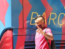 Arturo Vidal is very close to leaving. EFE