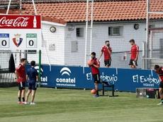 Los futbolistas del filial no entrenaron este lunes. EFE