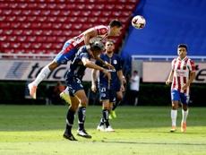 Quiroga promete sacrificio y goles. EFE