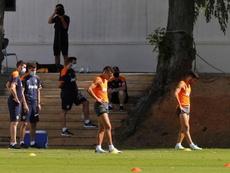 El Valencia se impuso por la mínima en Valladolid. EFE