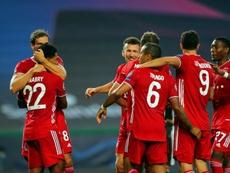 Il Bayern supera il Lione. EFE/EPA