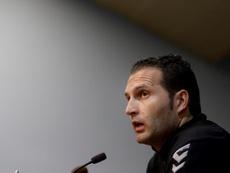 Rubén Baraja has been sacked. EFE