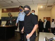Ronaldinho remis en liberté après plus de cinq mois de détention au Paraguay . afp
