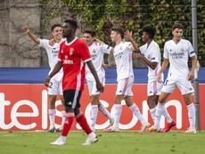 El Real Madrid se impuso por 2-3 al Benfica. EFE