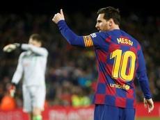 Offre alléchante de City au Barça pour Leo Messi. AFP