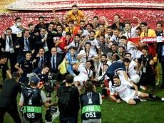 A Seleção da Europa League 2019-20. EFE