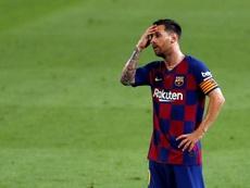Lionel Messi tem o City como um dos interessados caso deixe o Barcelona. EFE/Alberto Estévez/Arquivo