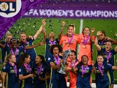 Lyon é o pentacampeão consecutivo da Champions League Feminina. EFE/EPA/Gabriel Bouys / POOL